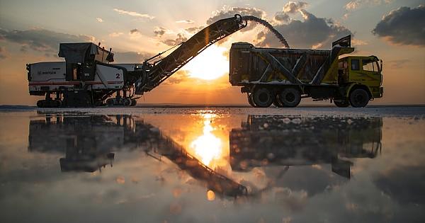 Konya'dan 60 ülkeye tuz ihracatı. Birbirinden güzel tuz gölü fotoları bu galeridee