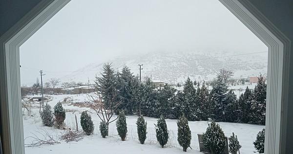 Madanşehri köyü yazın ayrı kışın ayrı güzel