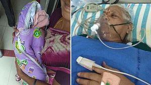 73 yaşında ikiz çocuğu oldu, kocası sevinçten felç geçirdi