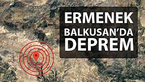 Ermenek - Balkusan'da Deprem