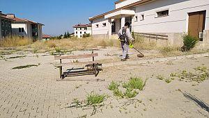 Ermenek belediyesi okul çevreleri düzenleme çalışmaları sürüyor