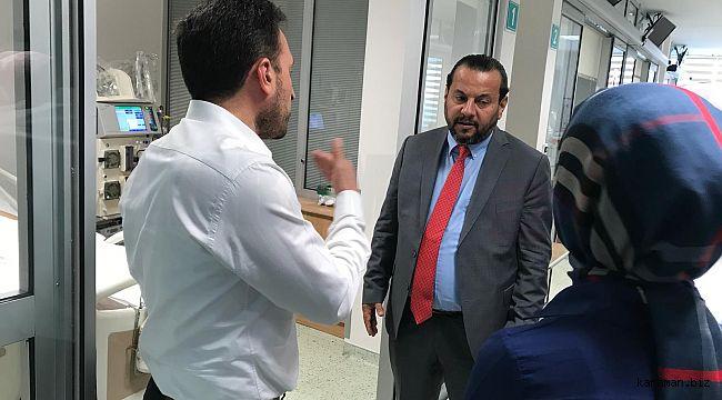 KMÜ Öğretim Üyesi İsmail Güllü Konya'da kaza yaptı