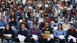 KMÜ Tıp Fakültesi ilk öğrencileriyle buluştu