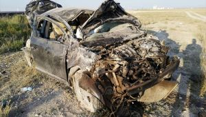 Nişana gidenleri taşıyan otomobil devrildi: 7 yaralı