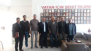 Yeniden Refah Partisi Şehit Aileleri Derneğini ziyaret etti