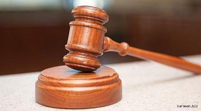 Çumra'da muhtarlık tartışmasında 3 akrabasını öldüren zanlının cezası belli oldu