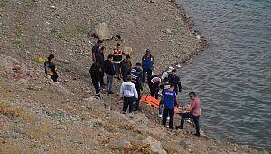 Barajda bulunan cesedin kimliği belli oldu