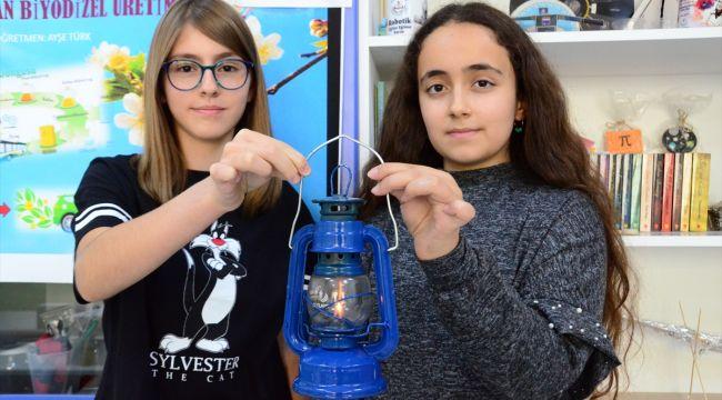 Bravo bu çocuklara. Atık yağdan yakıt ürettiler