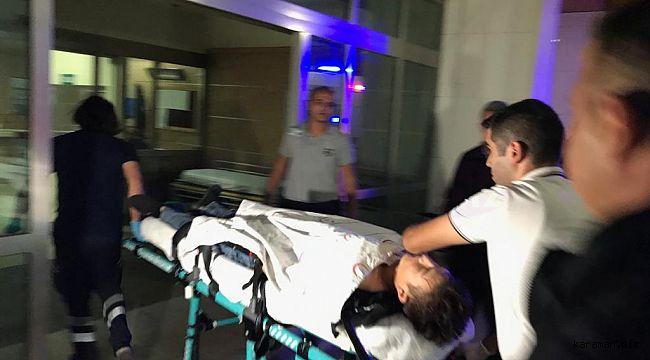 Karaman'da bıçaklama: Afganlı kişi eniştesini bıçakladı