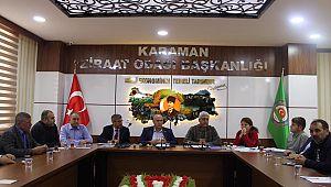 Karaman'da pancar üreticilerinin sorunları konuşuldu