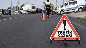 Çumra'daki kazada 1 kişi öldü, 3 kişi yaralandı