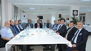 KMÜ Rektörü Akgül Batman'da rektörler toplantısına katıldı
