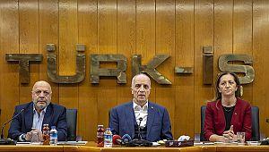 Türk-İş, Hak-İş ve DİSK: