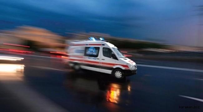 Güneyyurt'ta yaralıları taşıyan ambulans kaza yaptı: 2 si sağlık görevlisi 7 yaralı