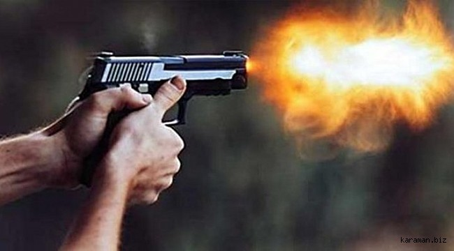 Konya'da sokakta silahla vurulan kişi ağır yaralandı