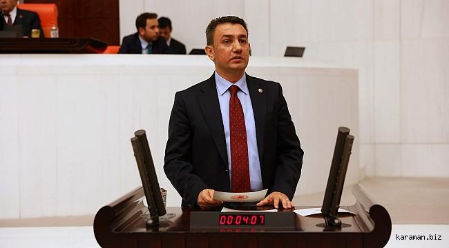 Milletvekili Ünver Karaman için sordu, bakan yanıtladı
