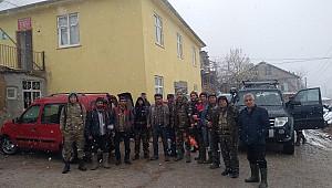 Avcılar hafta sonu Yukarı kızılca köyünde mesai yaptı