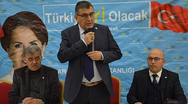 İYİ Parti İl başkanı Hatipoğlu: