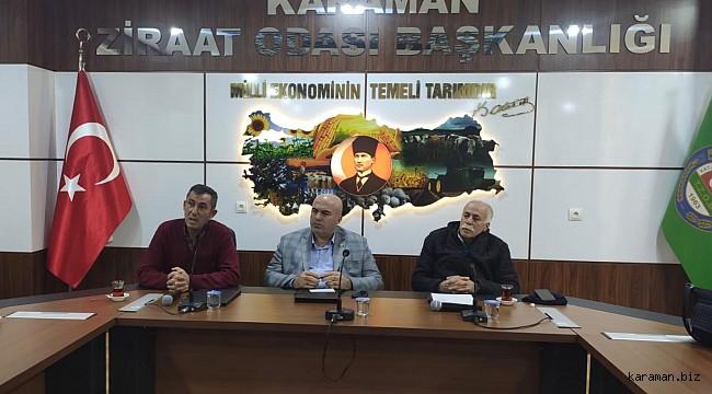 Karaman'da elma hasatında çalışacak işçiler için kurs açılacak