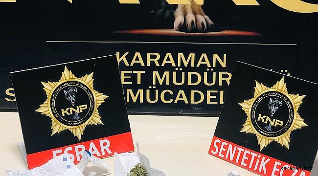 Alkışlar Karaman Emniyetine. 2 günde 6 torbacı tutuklandı