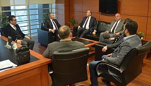 Romanya'nın Ankara Büyükelçisi Şopanda, Karamanlı iş insanlarıyla bir araya geldi