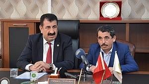 TÜDKİYEB Genel Başkanı Çelik Karaman'da