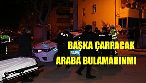 Alkollü sürücü polis aracına çarptı: 4 yaralı