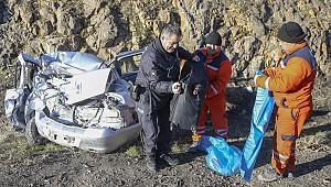 Ankara'da baba kızı trafik kazası ayırdı