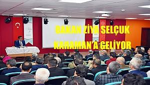 Cumartesi günü Milli Eğitim Bakanı Karaman'da olacak