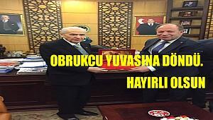 Ereğli Belediye Başkanı Obrukçu yuvasına döndü