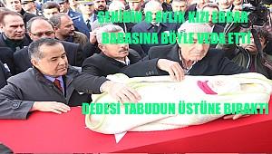 İdlib şehidi Aksaray'da toprağa verildi