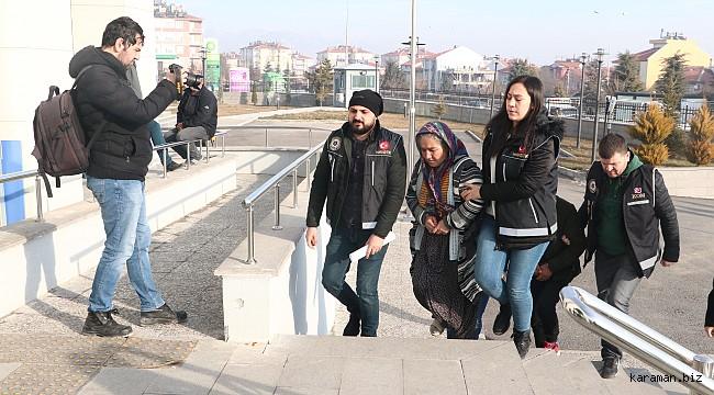Karaman'da uyuşturucu operasyonunda gözaltına alınan 3 kişi tutuklandı