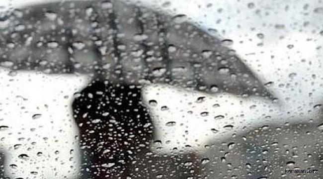 Karaman'ın doğusu için yağış uyarısı