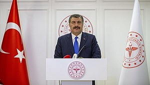 Bakan Koca: Türkiye'de can kaybı 214, toplam vaka sayısı da 13 bin
