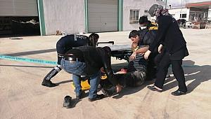 Ereğli'de elektrik akımına kapılan 3 işçi yaralandı