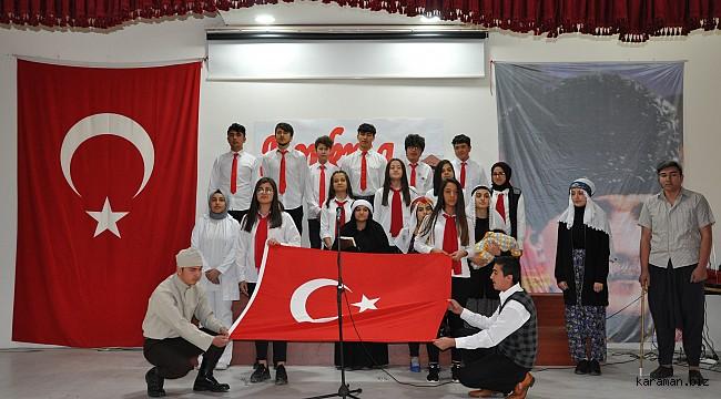 Ermenek'te İstiklal Marşı'nın Kabulü ve Mehmet Akif Ersoy'u Anma programı