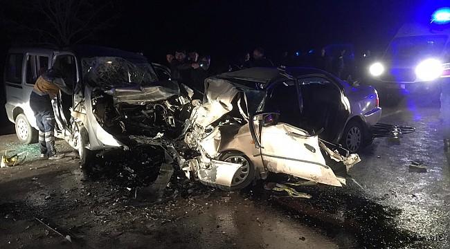 Güneysınır'da katliam gibi kaza: 4 ölü, 4 yaralı