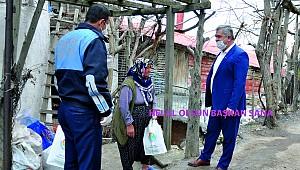 Zor işlerin adamı başkan Zorlu Ermenek'te gönüllere girmeye devam ediyor