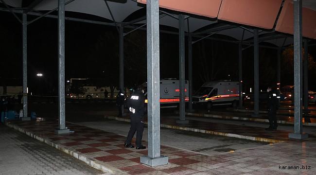 Konya'da karantinada olan umrecilerin bir kısmı Karaman'a geldi