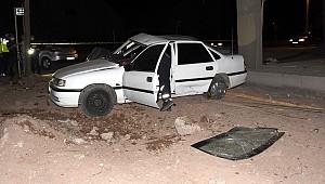 Aksaray'da şüpheli aracı kovalayan polis ekibi kaza yaptı, 3'ü polis 5 yaralı