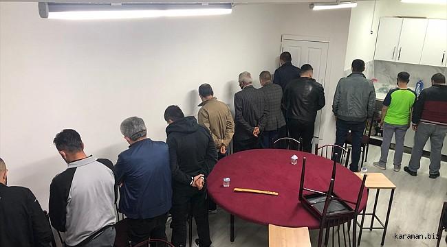 Ankara'da fuhuş ve kumar operasyonu; 20 gözaltı