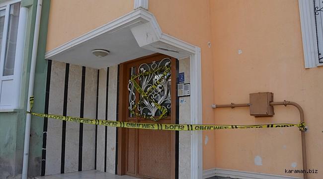 Karaman'da bu apartmanlardaki karantina kaldırıldı