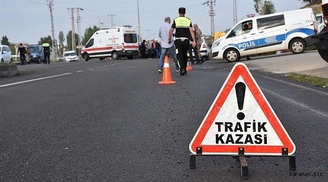 Ereğli'de otomobil devrildi: 1 çocuk öldü, 1'i çocuk 4 yaralı