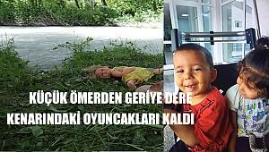 Halkapınar'da dereye düşün 3 yaşındaki ömer hayatını kaybetti