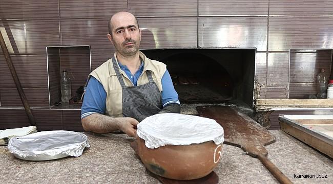 """Karaman'da iftar sofralarının süsü: """"Calla"""""""