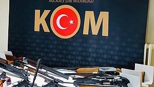 Karaman KOM'dan silah kaçakçılığı operasyonu: 4 gözaltı