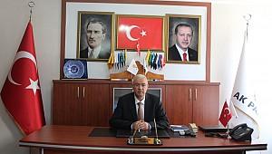 Karaman AK Parti İl Başkanı Abidin ÇAĞLAYAN'ın Karaman'ın İl oluşunun yıldönümü ve Babalar günü kutlama mesajı