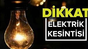 Karaman'da 90 köyde elektrik kesintileri olacak