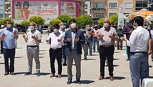 AK Parti Karaman İl Teşkilatı Ayasofya için lokma dağıttı