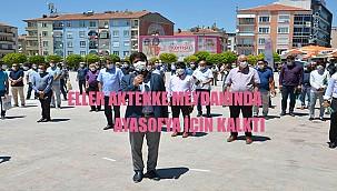 """Karaman'da """"Ayasofya"""" için şükür duasI"""